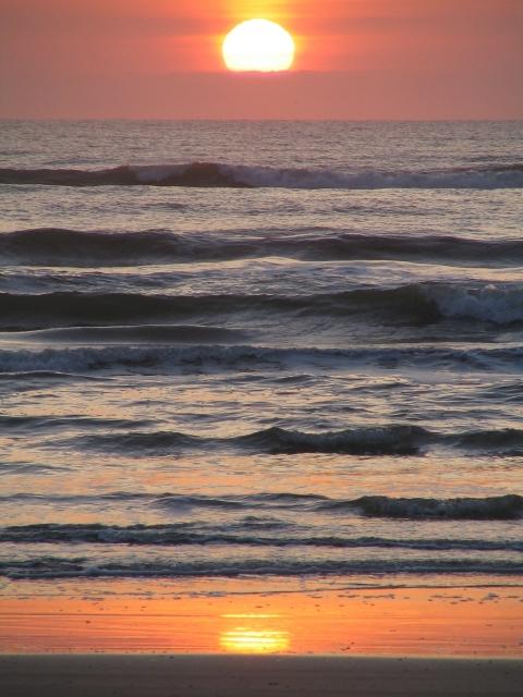 Sunrise Mustang Island